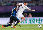 James Rodriguez of Real Madrid CF in action during the FC Internazionale Milano vs Real Madrid  as part of the International Champions Cup 2015 at the Tianhe Sports Centre on 27 July 2015 in Guangzhou, China. Photo by Hendrik Frank / Power Sport Images
