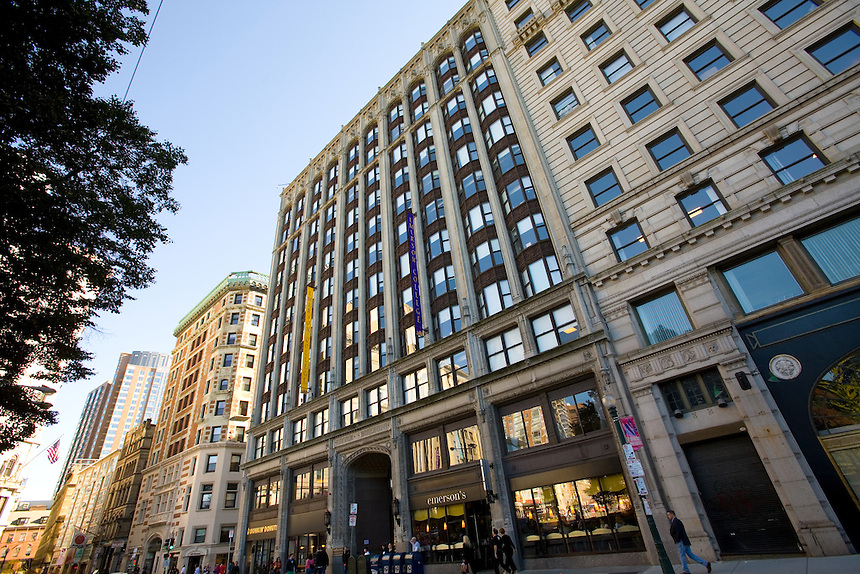 Emerson College, Little Building, Residence Halls, Campus