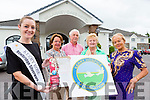 Kerry Rose Juliet Culloty launched the Kerry Hospice Foundation celebrating Models in Recovery fashion show which will be held in the Killarney Oaks Hotel on Wednesday 9th September back l-r: Elsie Hegarty, Pat Doolan, Margaret Walsh-O'Donoghue and Bernie O'Sullivan