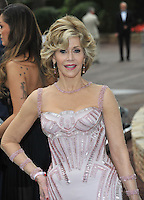 Jane Fonda  at the 21st annual amfAR Cinema Against AIDS Gala at the Hotel du Cap d'Antibes.<br /> May 22, 2014  Antibes, France<br /> Picture: Paul Smith / Featureflash