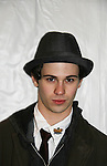"""One Life To Live's Connor Paolo """"Travis"""" and now on Gossip Girl attends Custo Barcelona Fashion Show on February 14, 2010 during Mercedes-Benz Fashion Week Fall 2010 Collections at Bryant Park, New York City, NY. (Photo by Sue Coflin/Max Photos)"""