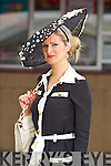 Derval O'Connell, Killarney at the Anthony Ryan Galway Races Ladies Day on Thursday.