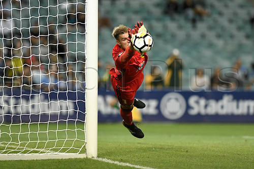 2nd February 2018, Allianz Stadium, Sydney, Australia; A League Football, Sydney FC versus Wellington Phoenix; Lewis Italiano of Wellington Phoenix