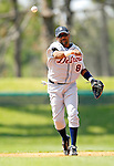 13 March 2007: Detroit Tigers infielder Neifi Perez in the action against the Los Angeles Dodgers at Holman Stadium in Vero Beach, Florida.<br /> <br /> Mandatory Photo Credit: Ed Wolfstein Photo