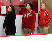 - The Boston University Terriers defeated the visiting Northeastern University Huskies 3-0 on Tuesday, December 7, 2010, at Walter Brown Arena in Boston, Massachusetts.