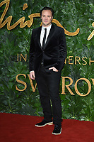Nicholas Kirkwood<br /> arriving for The Fashion Awards 2018 at the Royal Albert Hall, London<br /> <br /> ©Ash Knotek  D3466  10/12/2018