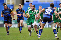 Aseli Tikoirotuma of London Irish goes on the attack. Aviva Premiership match, between London Irish and Worcester Warriors on February 7, 2016 at the Madejski Stadium in Reading, England. Photo by: Patrick Khachfe / JMP