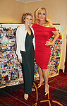 Sonia Satra (Guiding Light) and Judy McLane - Another World and longest running in Broadway show - Mama Mia - 30th Anniversary of the Jane Elissa Extravaganza to benefit The Jane Elissa Charitable Fund for Leukemia & Lymphoma Cancer, Broadway Cares & other charities on October 30. 2017 at the New York Marriott Marquis, New York, New York. (Photo by Sue Coflin/Max Photo)