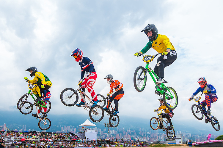 Picture by Alex Whitehead/SWpix.com - 29/05/2016 - Cycling - 2016 UCI BMX World Championships - Mariana Pajon BMX Track, Medellin, Colombia.
