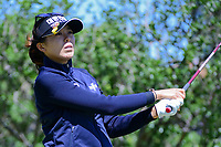Mi Jung Hur (KOR) watches her tee shot on 2 during round 4 of  the Volunteers of America Texas Shootout Presented by JTBC, at the Las Colinas Country Club in Irving, Texas, USA. 4/30/2017.<br /> Picture: Golffile | Ken Murray<br /> <br /> <br /> All photo usage must carry mandatory copyright credit (&copy; Golffile | Ken Murray)