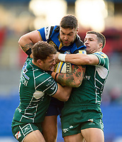 Matt Banahan of Bath Rugby takes on the London Irish defence. Aviva Premiership match, between London Irish and Bath Rugby on November 19, 2017 at the Madejski Stadium in Reading, England. Photo by: Patrick Khachfe / Onside Images