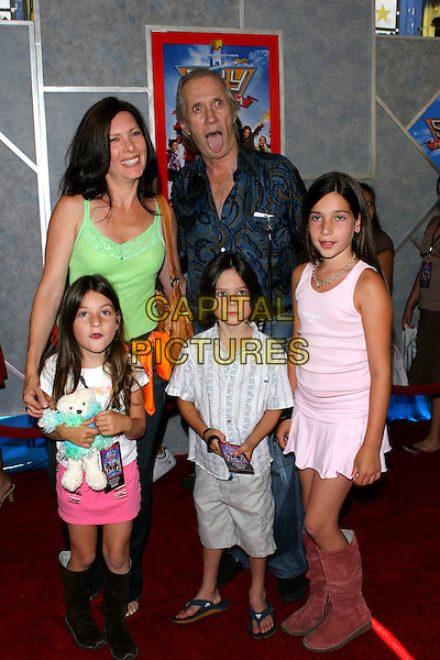 """24 July 2005 - Hollywood, CA - David Carradine and Family. World premiere of """"Sky High"""" held at The El Capitan Theatre..Photo credit: Jacqui Wong/AdMedia"""
