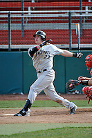 Cincinnati Bearcats outfielder Jake Proctor (23)  during a game vs. St. John's Red Storm at Jack Kaiser Stadium in Queens, NY;  March 25, 2011.  St. John's defeated Cincinnati 3-2.  Photo By Tomasso DeRosa/Four Seam Images