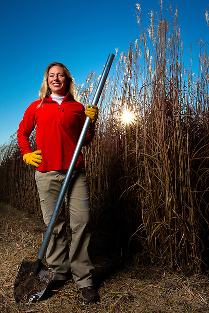 Dr. Emily Heaton is an Assistant Professor of Agronomy focusing on the biomass crop production and physiology at Iowa State University. While pursuing her doctorate in Crop Sciences at the University of Illinois, she pioneered research comparing the biomass production of Miscanthus and switchgrass in the United States, research that indicated Miscanthus could produce 250% more ethanol than corn, without requiring additional land.