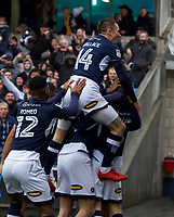 during the Sky Bet Championship match between Millwall and Nottingham Forest at The Den, London, England on 30 March 2018. Photo by Alan  Stanford / PRiME Media Images.