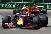 June 11th 2017, Circuit Gilles Villeneuve, Montreal Quebec, Canada; Formula One Grand Prix, Race Day. #3 Daniel Ricciardo (AUS, Red Bull Racing),