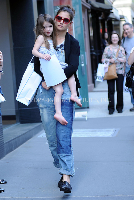 WWW.ACEPIXS.COM . . . . . ....April 8 2010, New York City....Actress Katie Holmes takes her daughter Suri Cruise to Chelsea piers and then shopping on April 8 2010 in New York City....Please byline: KRISTIN CALLAHAN - ACEPIXS.COM.. . . . . . ..Ace Pictures, Inc:  ..tel: (212) 243 8787 or (646) 769 0430..e-mail: info@acepixs.com..web: http://www.acepixs.com