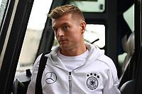 Toni Kroos (Deutschland Germany) - 04.10.2017: Deutschland Teamankunft, Stormont Hotel Belfast