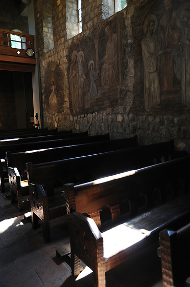 Iglesia del Cerro San Cristóbal / Santiago de Chile.<br /> <br /> Edición de 3   Víctor Santamaría.