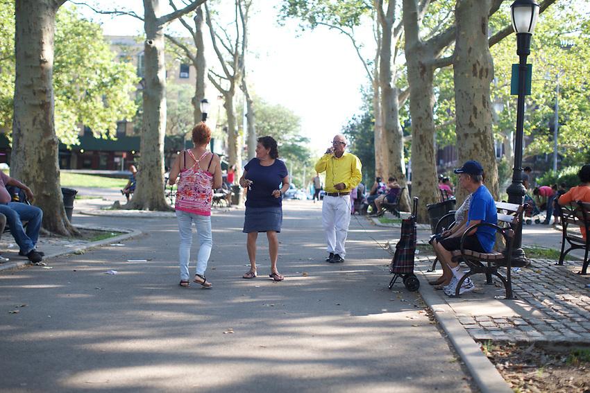 BROOKLYN, NY - July 25, 2015: A walk through Sunset Park.<br /> <br /> Credit: Clay Williams.<br /> <br /> &copy; Clay Williams / http://claywilliamsphoto.com