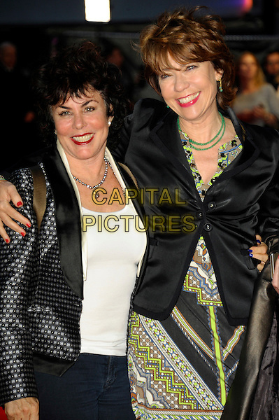 LONDON, ENGLAND, OCTOBER 17: Ruby Wax &amp; Kathy Lette at the 'A Little Chaos' Screening during the 58th BFI London Film Festival at Odeon West End on October 17, 2014 in London, England, UK.<br /> CAP/CJ<br /> &copy;Chris Joseph/Capital Pictures