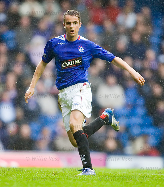 Andrew Shinnie, Rangers.stock season 2006-2007.pic willie vass