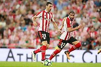 Athletic Club de Bilbao's Aritz Aduriz (l) and Raul Garcia during Europa League Third Qualifying Round, 2nd leg. April 5,2012. (ALTERPHOTOS/Acero) /NortePhoto.com