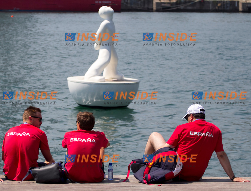 Spanish Team<br /> Open Water 10km Women<br /> 15 FINA World Aquatics Championships<br /> Day-04<br /> Barcelona 19 July - 4 August 2013<br /> Photo L. Salvemini/Insidefoto/Deepbluemedia.eu