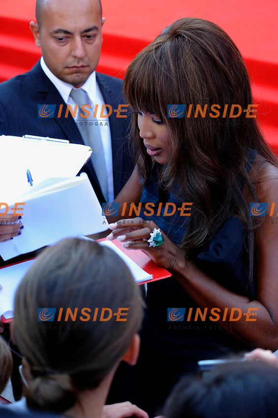 "- ""67 Mostra Internazionale D'Arte Cinematografica"". Thursday, 2010 September 02, Venice ITALY..- In The Picture: Naomi Campbell on the red carpet for the premiere of the film ""MIRAL""...Photo Stefano Micozzi / Insidefoto"
