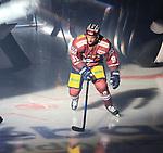08.09.2017, Mercedes Benz Arena, Berlin, GER, 1.DEL, EISBAEREN BERLIN  VS.  THOMAS SABO ICE TIGERS, im Bild <br /> Mark Olver (Eisbaeren Berlin #91)<br /> <br />      <br /> Foto &copy; nordphoto / Engler