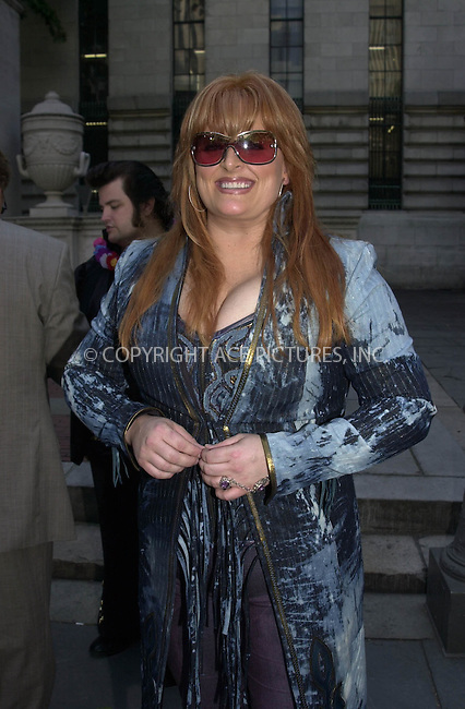 Wynonna Judd performs at Bryant Park for ABC's Good Morning America. New York. June 21, 2002. Please byline: ARTHUR J./ACEPIXS.COM   .. *** ***  ..Ace Pictures, Inc:  ..contact: Alecsey Boldeskul (646) 267-6913 ..Philip Vaughan (646) 769-0430..e-mail: info@acepixs.com