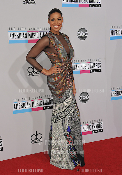 Jordin Sparks at the 40th Anniversary American Music Awards at the Nokia Theatre LA Live..November 18, 2012  Los Angeles, CA.Picture: Paul Smith / Featureflash