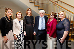 Elaine O'Shea, Fiona McPoland, Una Scanlon, Mike Relihan, Liz Drew and Norma Lynch, at the Brides of Kerry Wedding Industry Awards in the Ballyroe Heights Hotel on Sunday evening last.