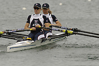 Munich, GERMANY, 2006, FISA, Rowing, World Cup, GBR LW2X bow Jane Hall and Helen Casey . held on the Olympic Regatta Course, Munich, Thurs. 25.05.2006. © Peter Spurrier/Intersport-images.com,  / Mobile +44 [0] 7973 819 551 / email images@intersport-images.com..[Mandatory Credit, Peter Spurier/ Intersport Images] Rowing Course, Olympic Regatta Rowing Course, Munich, GERMANY
