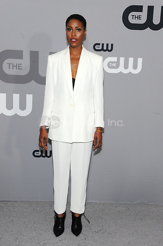 NEW YORK, NY - MAY 17: Christine Adams at the 2018 CW Network Upfront at The London Hotel on May 17, 2018 in New York City. Credit: John Palmer/MediaPunch