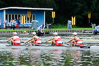Amsterdam, NETHERLANDS, CAN BLM4-,  2011 FISA U23 World Rowing Championships, Wednesday, 20/07/2011 [Mandatory credit:  Intersport Images]