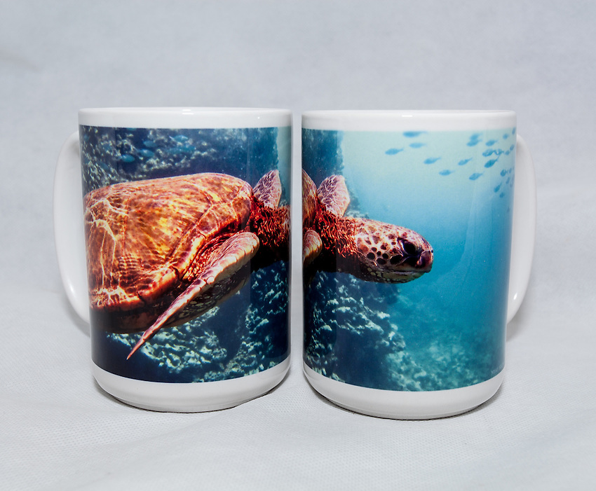 15 oz. Mug  - Sea Turtle - $25 + $6 shipping. <br />