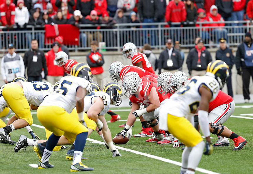 Ohio State Buckeyes against Michigan Wolverines at Ohio Stadium in Columbus, Ohio on November 29, 2014.  (Dispatch photo by Kyle Robertson)