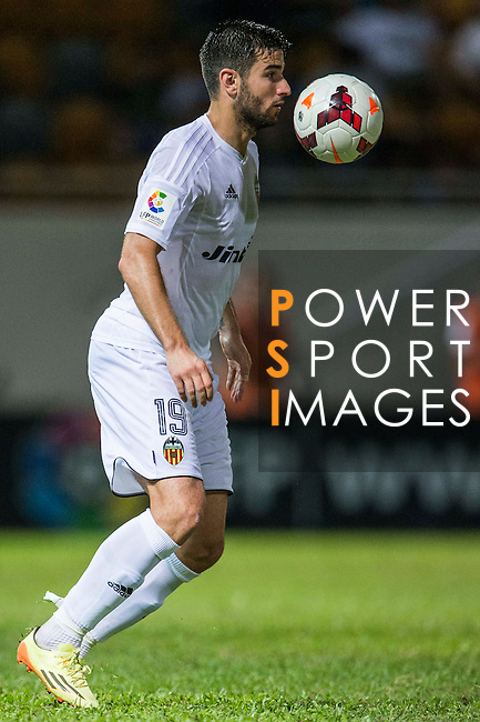 Antonio Barragan of Valencia CF in action during LFP World Challenge 2014 between Valencia CF vs Villarreal CF on May 28, 2014 at the Mongkok Stadium in Hong Kong, China. Photo by Victor Fraile / Power Sport Images