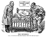 "The reversion. Turkey. ""I'm giving up thid bed, William. Won't you take my place?"""