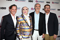 "LOS ANGELES, CA-  Bryan Rabin, James St. James, Guests, At 2017 Outfest Los Angeles LGBT Film Festival - Closing Night Gala Screening Of ""Freak Show"" at The Theatre at Ace Hotel, California on July 16, 2017. Credit: Faye Sadou/MediaPunch"