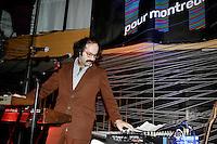 Montreal (Quebec) CANADA - Nov 19 2009 Open ing cocktail,M Pour Montreal, dj tony aziz