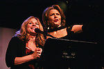 Lisa Barnes & Denise Pence (GL) - co-presidents of NYCWAM - Celebrating Women Artists Over 40 - The New York Coalition of Professional Qomen in the ts & Media, INC. in association with American Federation of Television & Radio Artists and the Screen Actors Guild presents VintAGE on March 1, 2010 at Peter Norton Symphony Space, New York City, New York. (Photo by Sue Coflin/Max Photos)