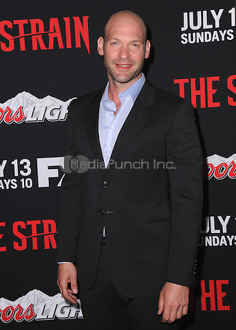 "LOS ANGELES, CA - JULY 10:  Corey Stoll at the Premiere Event for ""The Strain"", presented by FX Networks at the Directors Guild of America on July 10, 2014 in Los Angeles, California. Credit: PGKirkland/MediaPunch"