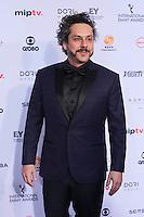 NEW YORK, NY 21.11.2016 - EMMY-2016 - Alexandre Nero durante tapete vermelho do Emmy Internacional 2016 prêmio dos melhores atores e novelas da TV, em Nova York, nos Estados Unidos na noite desta segunda-feira, 21. (Foto: Vanessa Carvalho/Brazil Photo Press)