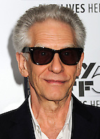 NEW YORK CITY, NY, USA - SEPTEMBER 27: David Cronenberg arrives at the 52nd New York Film Festival - 'Maps To The Stars' Premiere held at Alice Tully Hall on September 27, 2014 in New York City, New York, United States. (Photo by Celebrity Monitor)