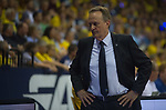 08.05.2018, EWE Arena, Oldenburg, GER, BBL, Playoff, Viertelfinale Spiel 2, EWE Baskets Oldenburg vs ALBA Berlin, im Bild<br /> Haende in den Hueften..<br /> Aito Garcia RENESES (ALBA Berlin #Headcoach, #Trainer)<br /> Foto &copy; nordphoto / Rojahn