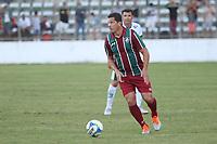 O jogador Fabiano Eller do Fluminense durante partida contra o Gama na Copa Internacional de Futebol Legends, no Estádio Bezerrão, nessa terça-feira (18). (Foto: Anderson Papel/Código19)