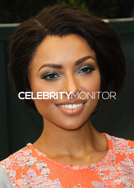 "BEVERLY HILLS, CA, USA - JUNE 14: Kat Graham at the Children Mending Hearts' 6th Annual Fundraiser ""Empathy Rocks: A Spring Into Summer Bash"" on June 14, 2014 in Beverly Hills, California, United States. (Photo by Celebrity Monitor)"