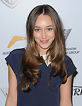 "Alycia Debnam-Carey arriving to the ""AusFilm International Awards"" held at the InterContinental Hotel Los Angeles, Ca. October 24, 2013."
